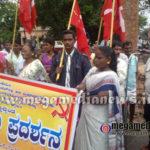 Dalith samithi protest