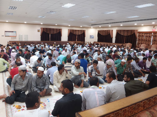 India Fraternity Forum Hosts Iftar Party