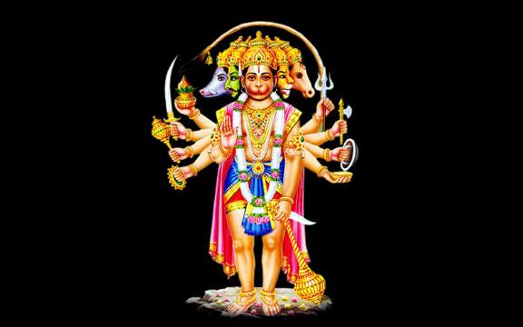 panchaamukhi Anjaneya