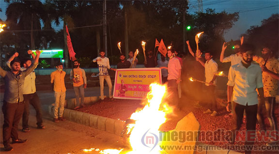 Abvp Protest